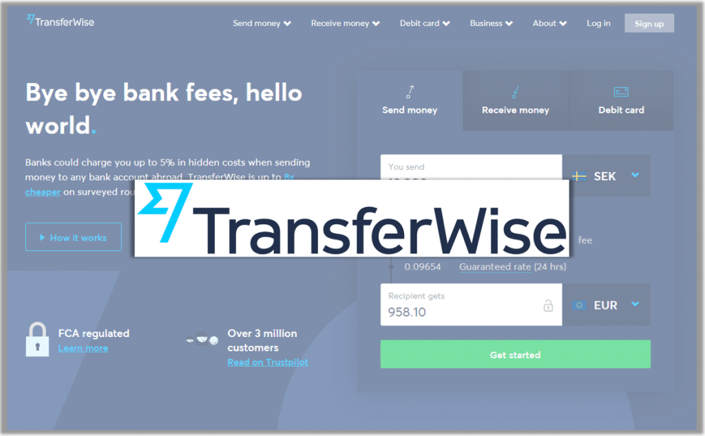 TransferWise | The Working At Home Man