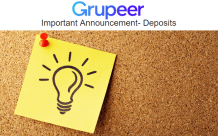 Grupeer updates clients on its issues with deposits.