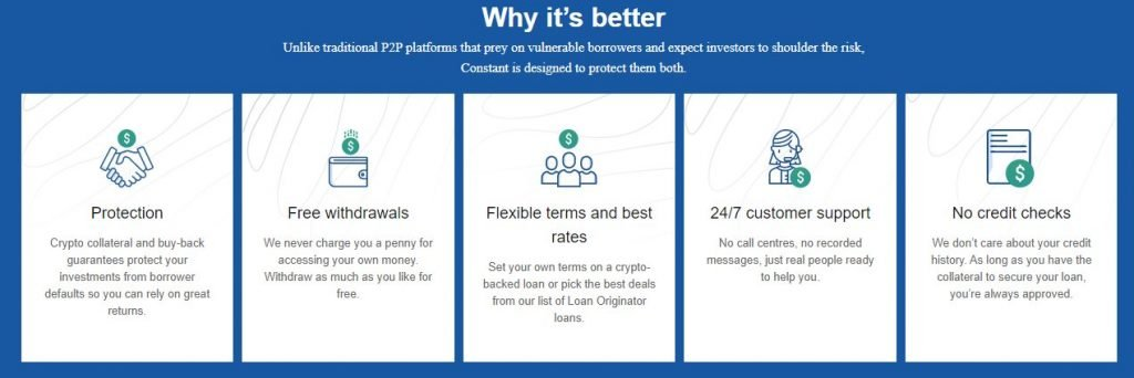 why my constant is better than traditional P2P